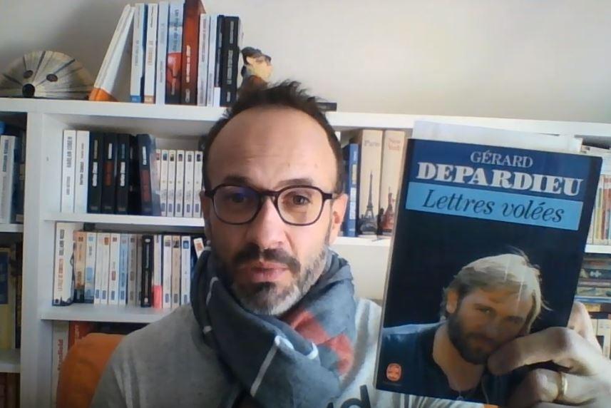 Les petites lectures de Seb #1. Lettres volées, Gérard Depardieu, 1988.